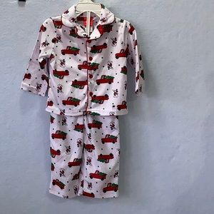 Infant Mickey Mouse Fleece Pajama Set